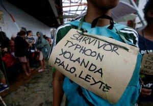 Survivor Typhoon Yolanda
